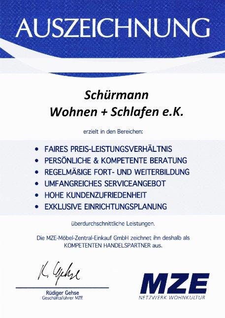 Auszeichnung Schürmann Hagen